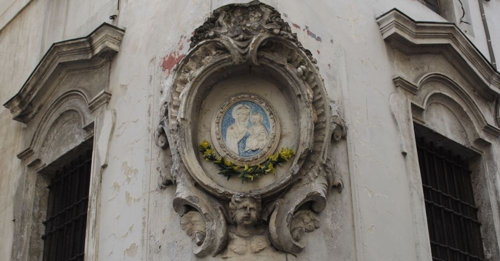 Street Corner Decoration