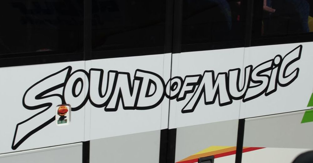 Branded Tour Bus