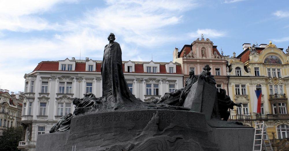 Jan Hus in Old Town Prague