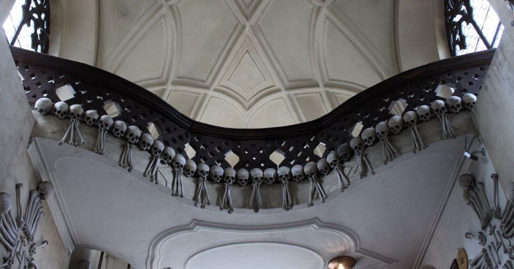 Skeletal Decorations in Sedlec Ossuary