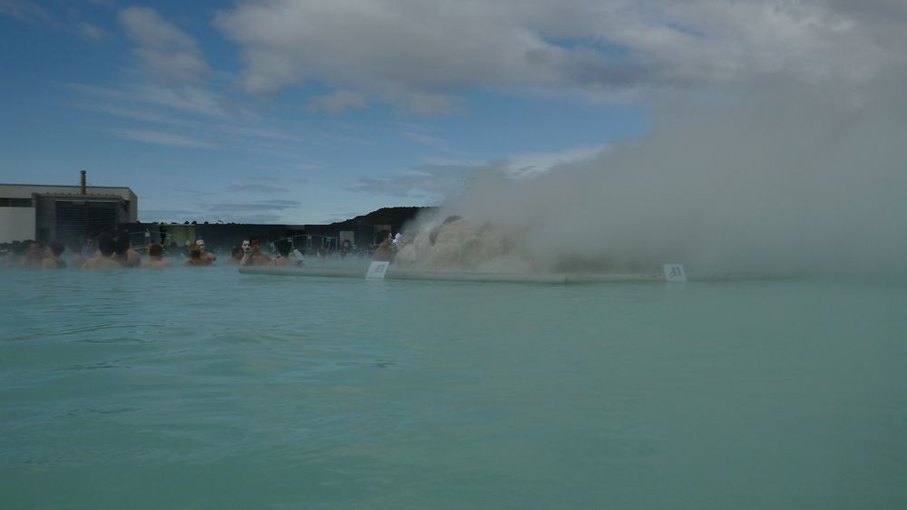 Geothermal power at the Blue Lagoon