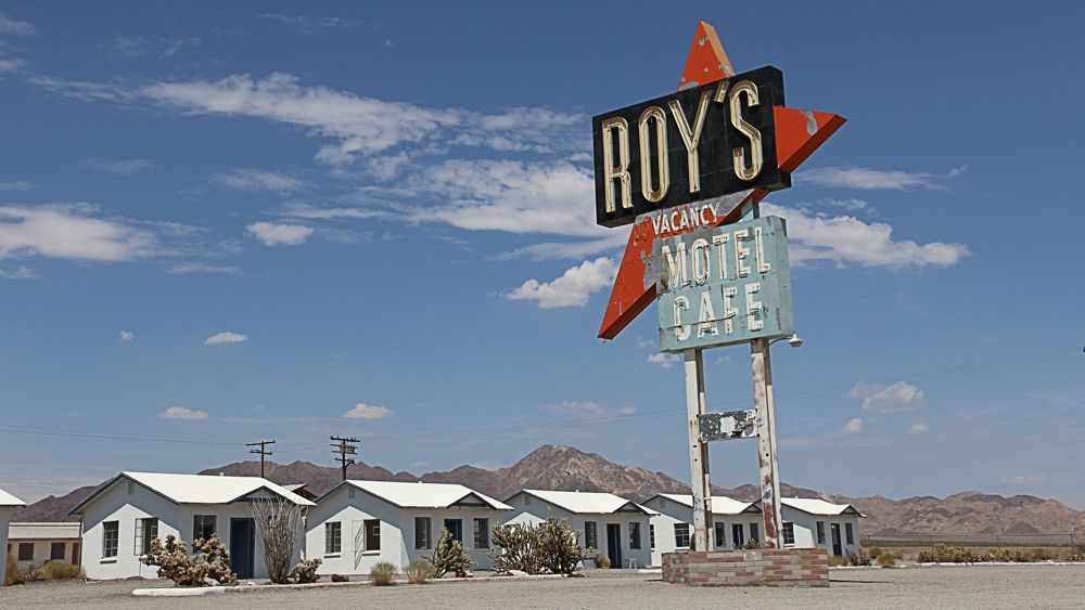 Roy's Motel and Cafe.