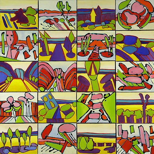 Tiles by Mary Bechtol