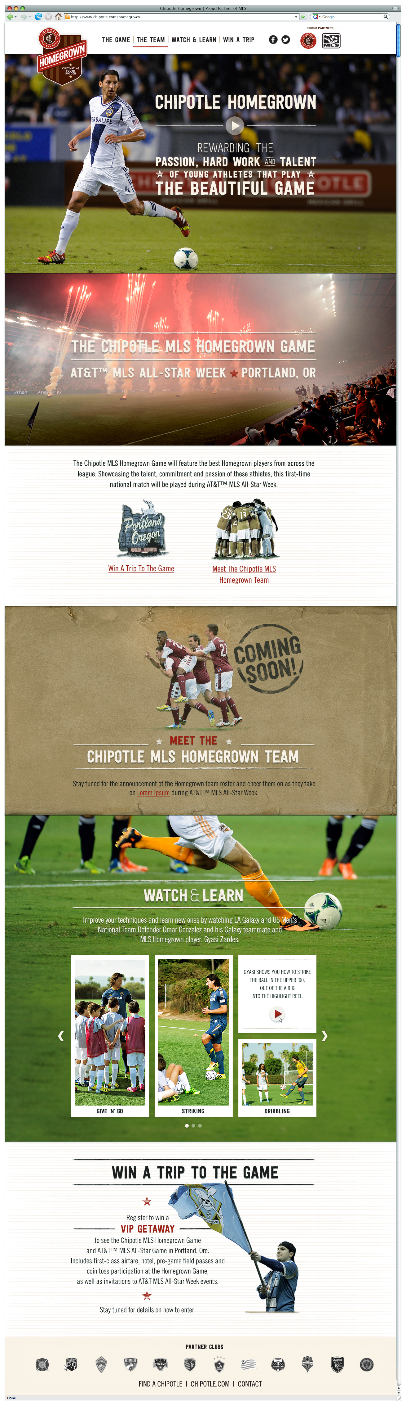 Chipotle MLS Homegrown