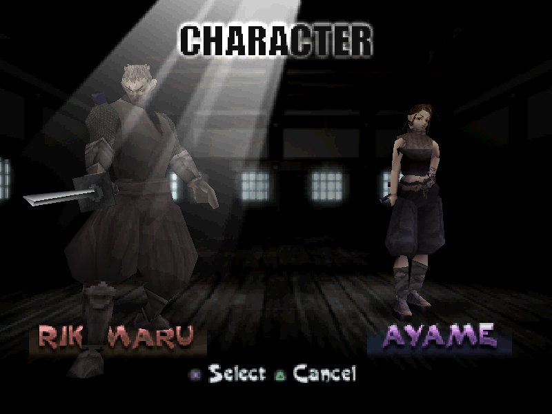 The Classic Game Tenchu Wizwords