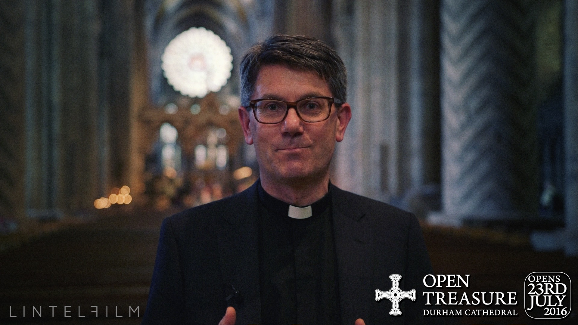 Durham Cathedral's new Dean, Andrew Tremlett