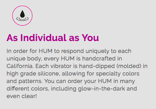 HUM - the worlds first artificially intelligent vibrator