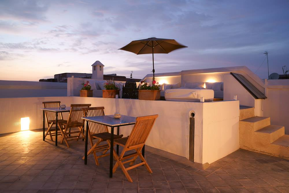 Rooftop at Riad Sapphire