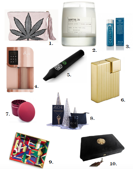 Holiday gift guide for the cannabis consumer