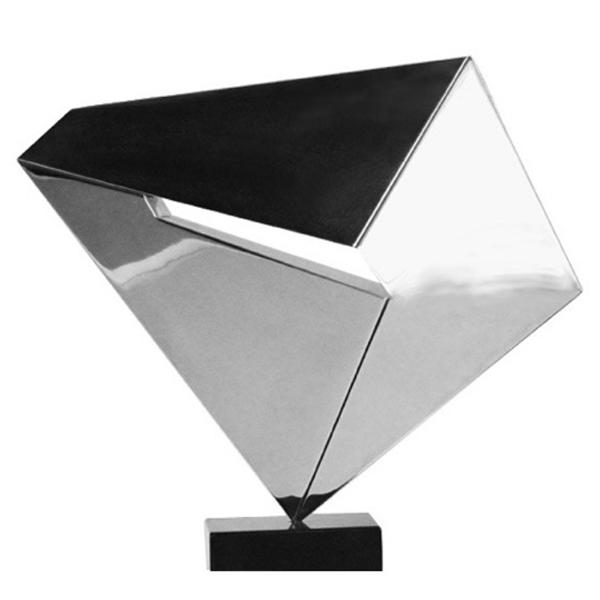 "Neemo, 14  ""  W x 12  ""  H x 2  ""  D, Solid Aluminum Base:   Marble 4  ""  W x 3  ""  H x 1  ""  D,   Sculpture, 1980"