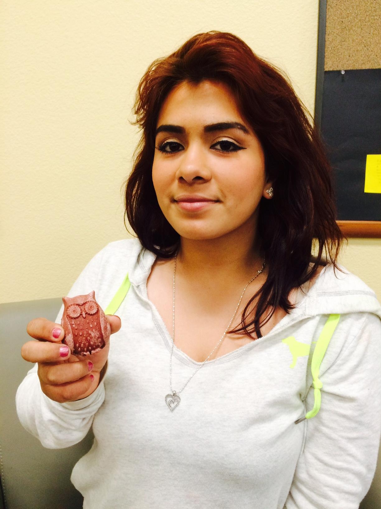 Lyzette Rubenstein, Student at Diego Valley Charter School.