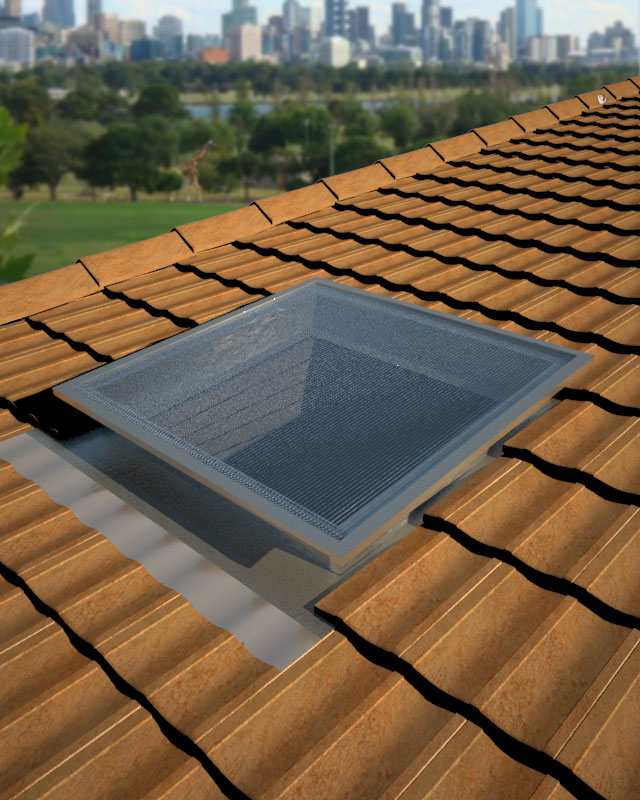 SupaLite Square on Tile Roof.jpg