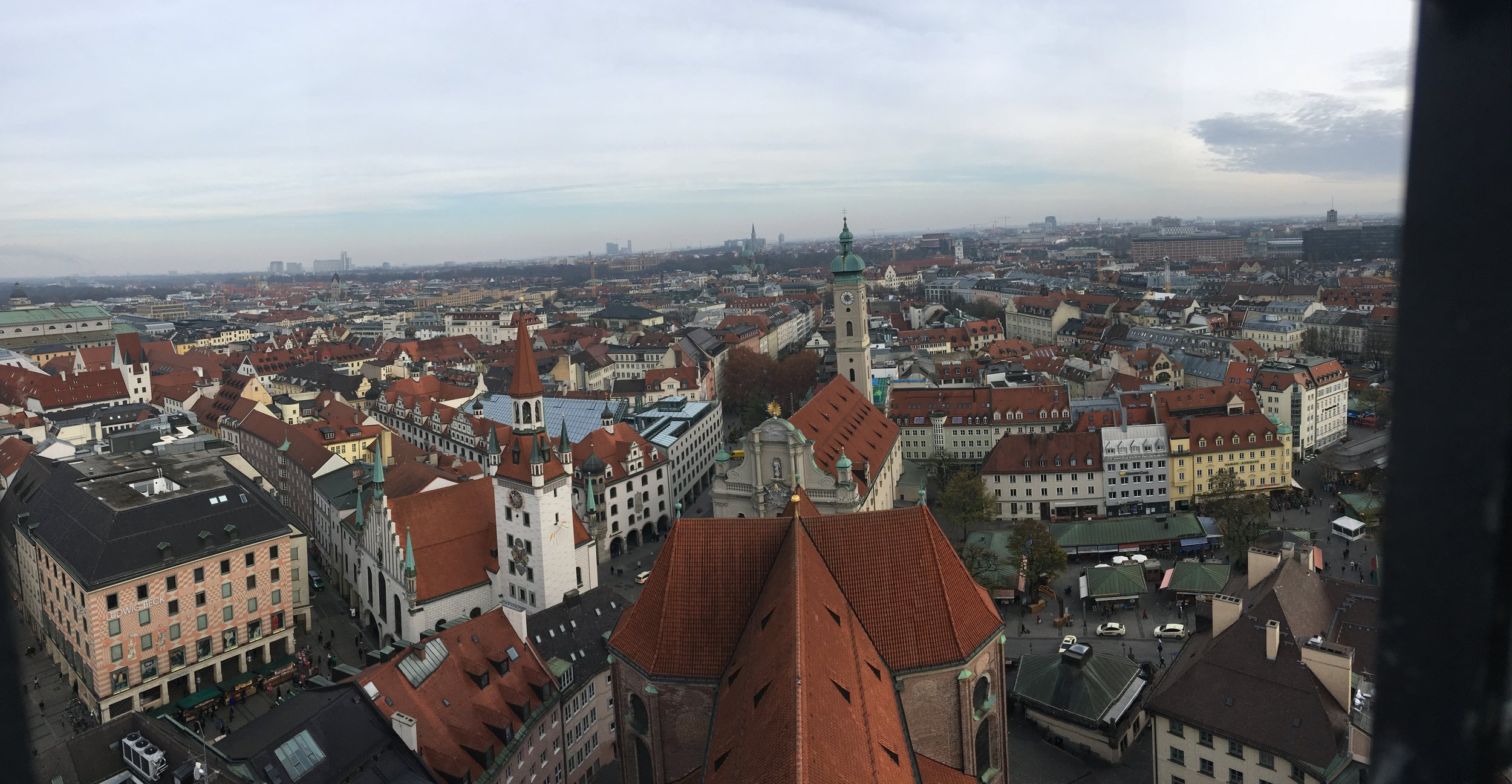 A view of Munich from St. Peter's Church