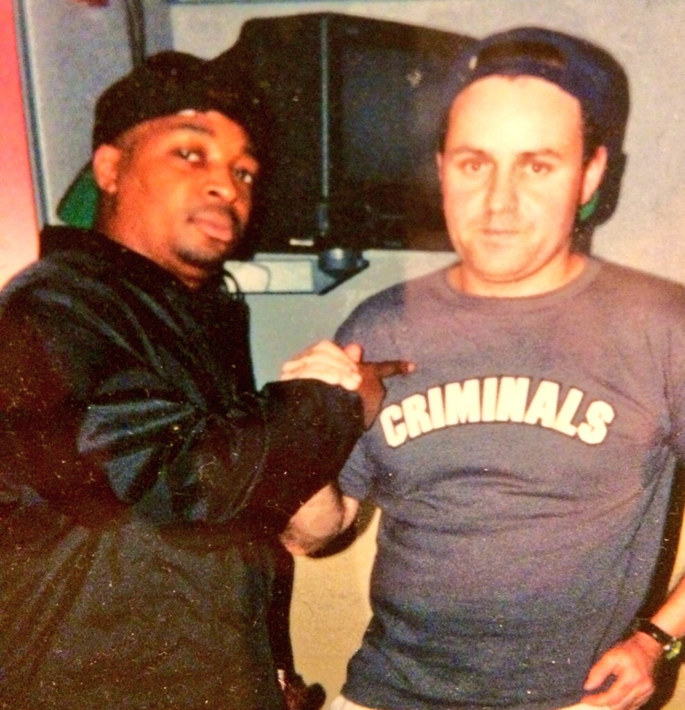 Brother's gonna work it out. Chuck D & me back in the day.