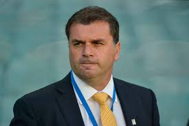 The man with the plan... Socceroos boss Ange Postecoglou.