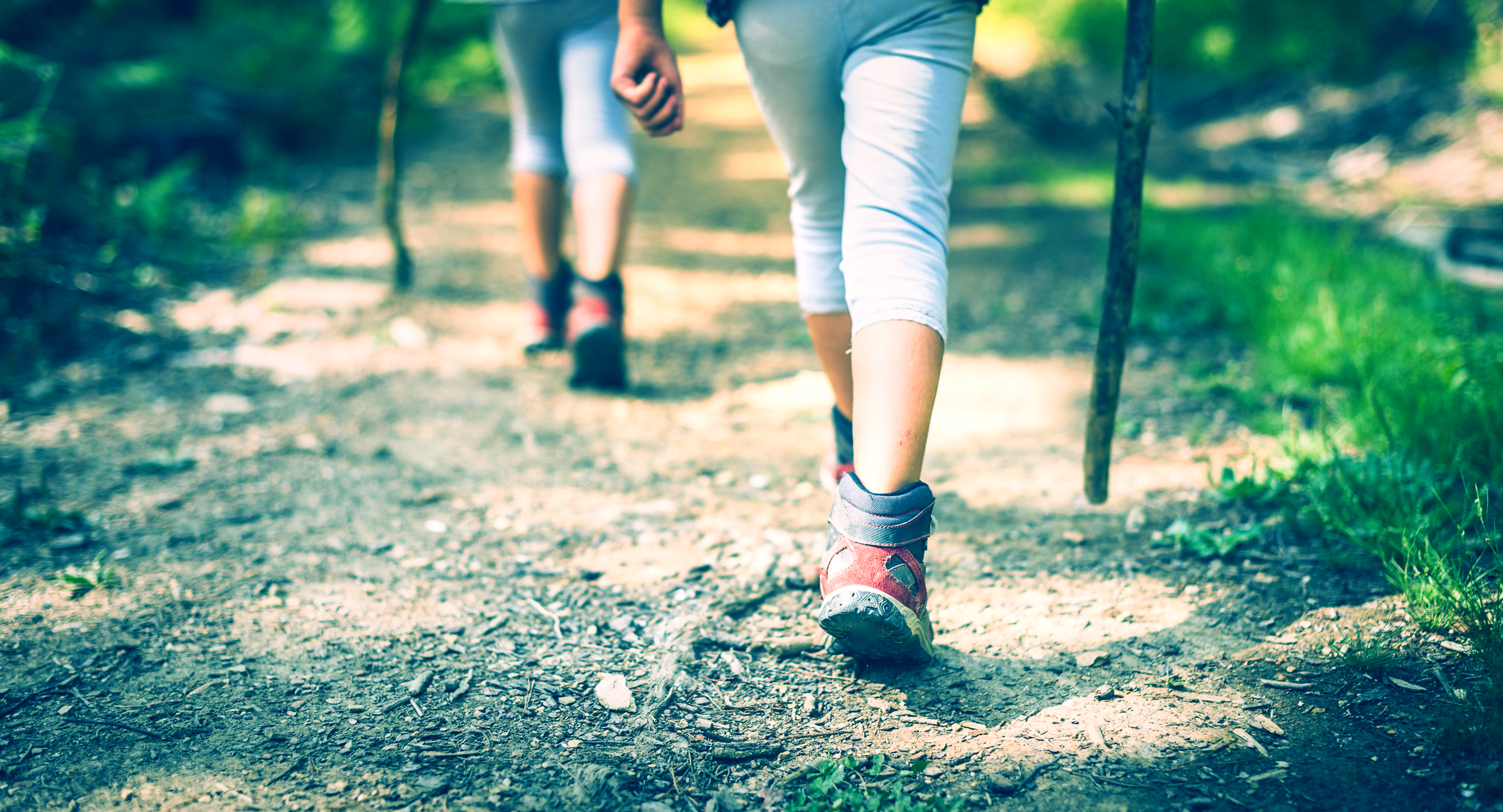 Prepare your feet for long distance walking events