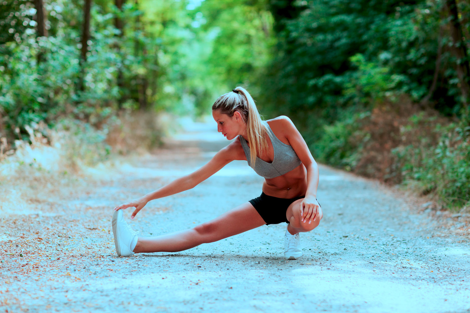 Weakness is usually the prime reason people get injured while running.