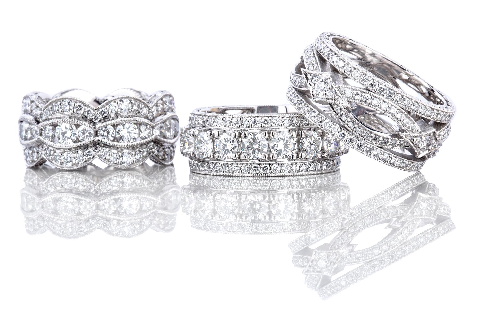Tacori RoyalT Diamond wedding bands