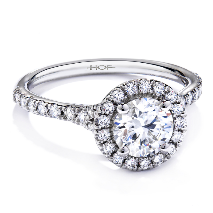 Diamond Engagement Ring by Hearts On Fire
