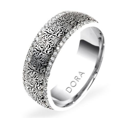 DORA - Wedding Band Ring  Style No. 5807  Starting at $4795