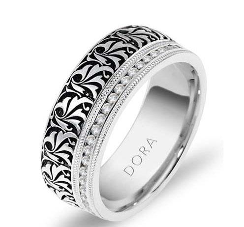 DORA - Wedding Band Ring  Style No. 5259  Starting at $2195