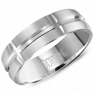 CROWN RING - Wedding Band Ring  Style No. HW_6107  Starting at $999
