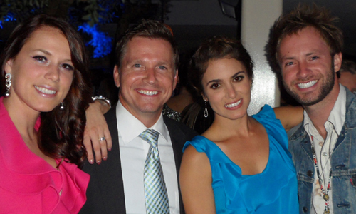 Becca Janssen, Craig Husar, Nikki Reed and Paul McDonald