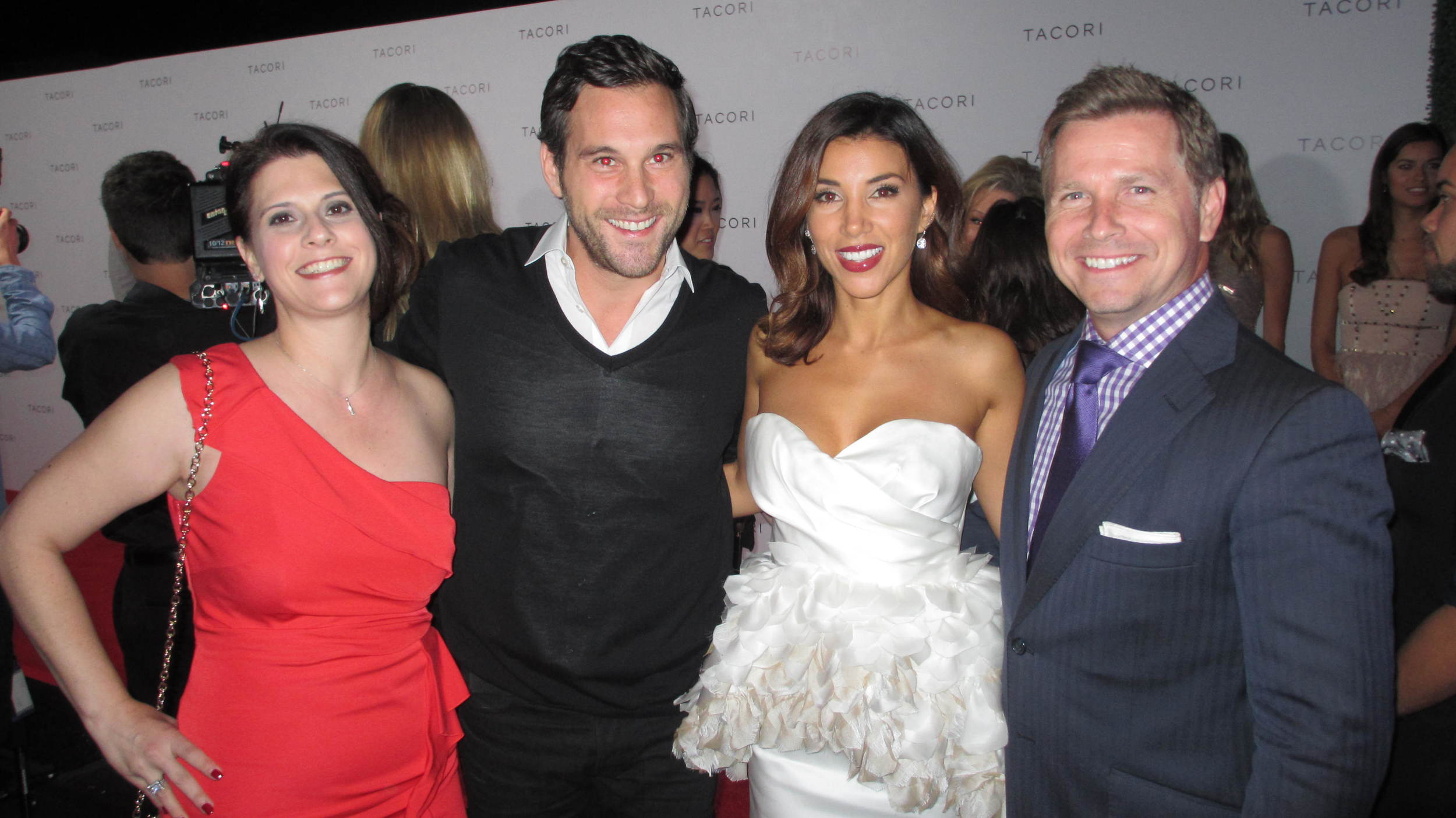 Jennifer Tromp, Scott Gorelick, Adrianna Costa & Craig Husar at Club Tacori