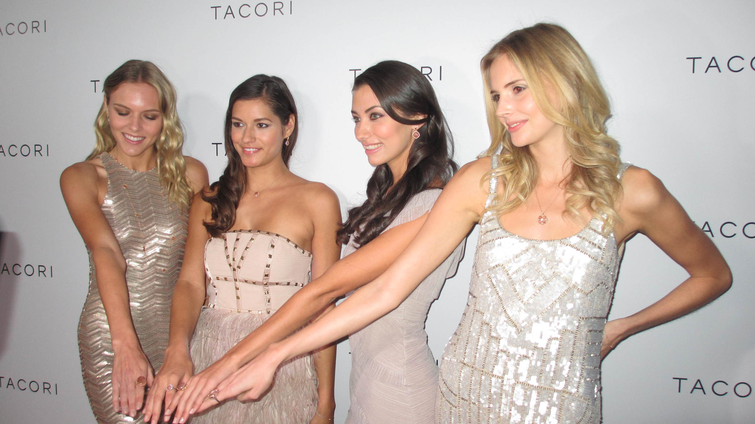 World premier of the TACORI Moon Rose Collection (Beverly Hills, California)