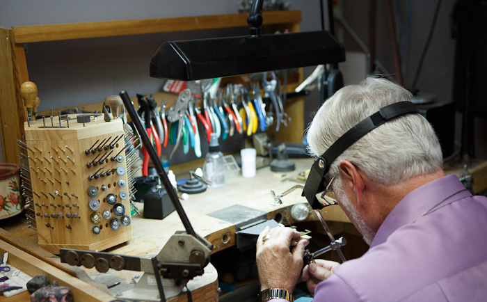 Lyle Husar, Jeweler & Master Watchmaker, Founder of Lyle Husar Designs | © Husar Photography