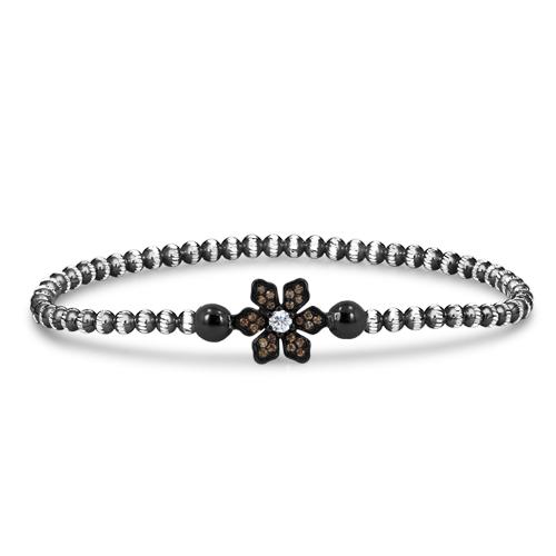 FourKeeps - 1 Row Bracelet, Petal - $100