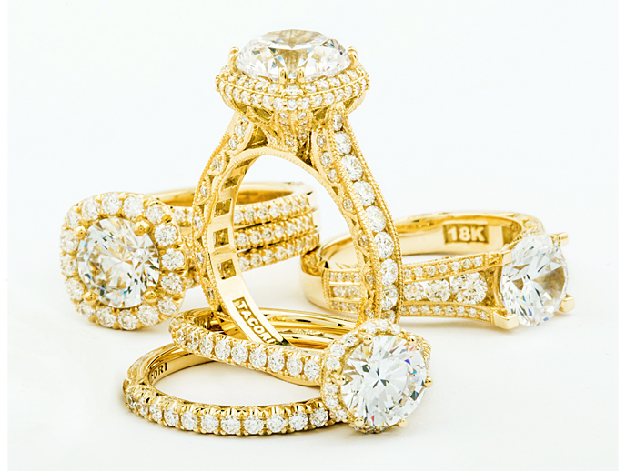Tacori Gold by Tacori   Hand-selected by our designers, we took our top bridal designs from every collection and handcrafted them into a rich vibrant and luxurious yellow gold. This collection is called Tacori Gold.