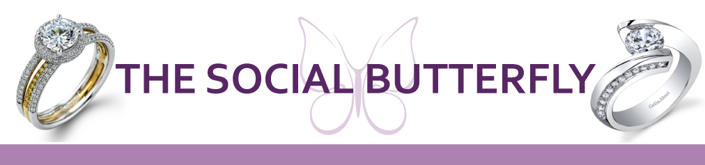 Engagement Rings for Social Butterfly