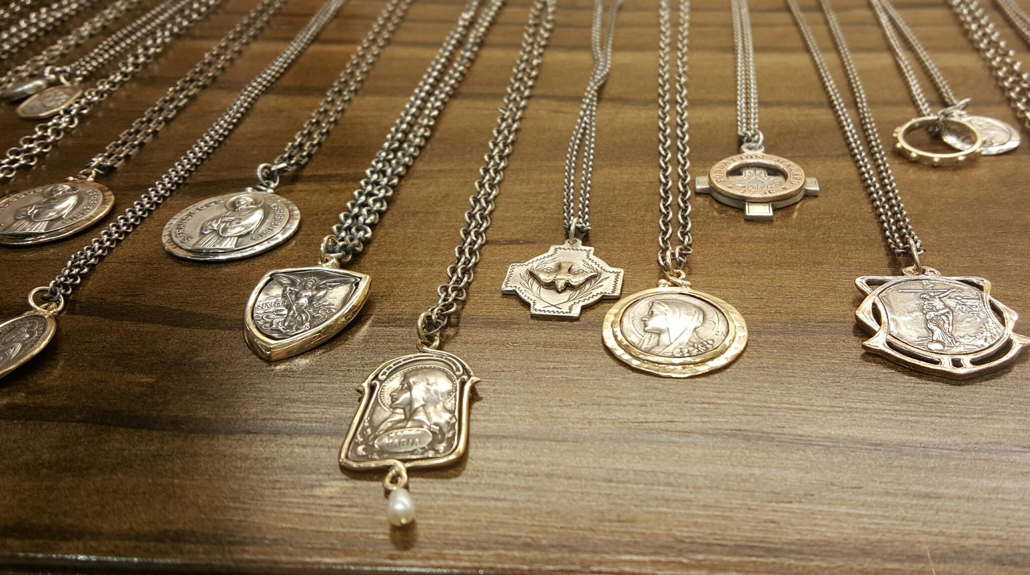Brother Wolf Sanctus Jewelry Medallions