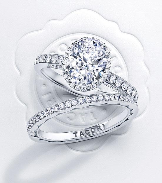 Tacori Dantela Diamond Engagement Ring
