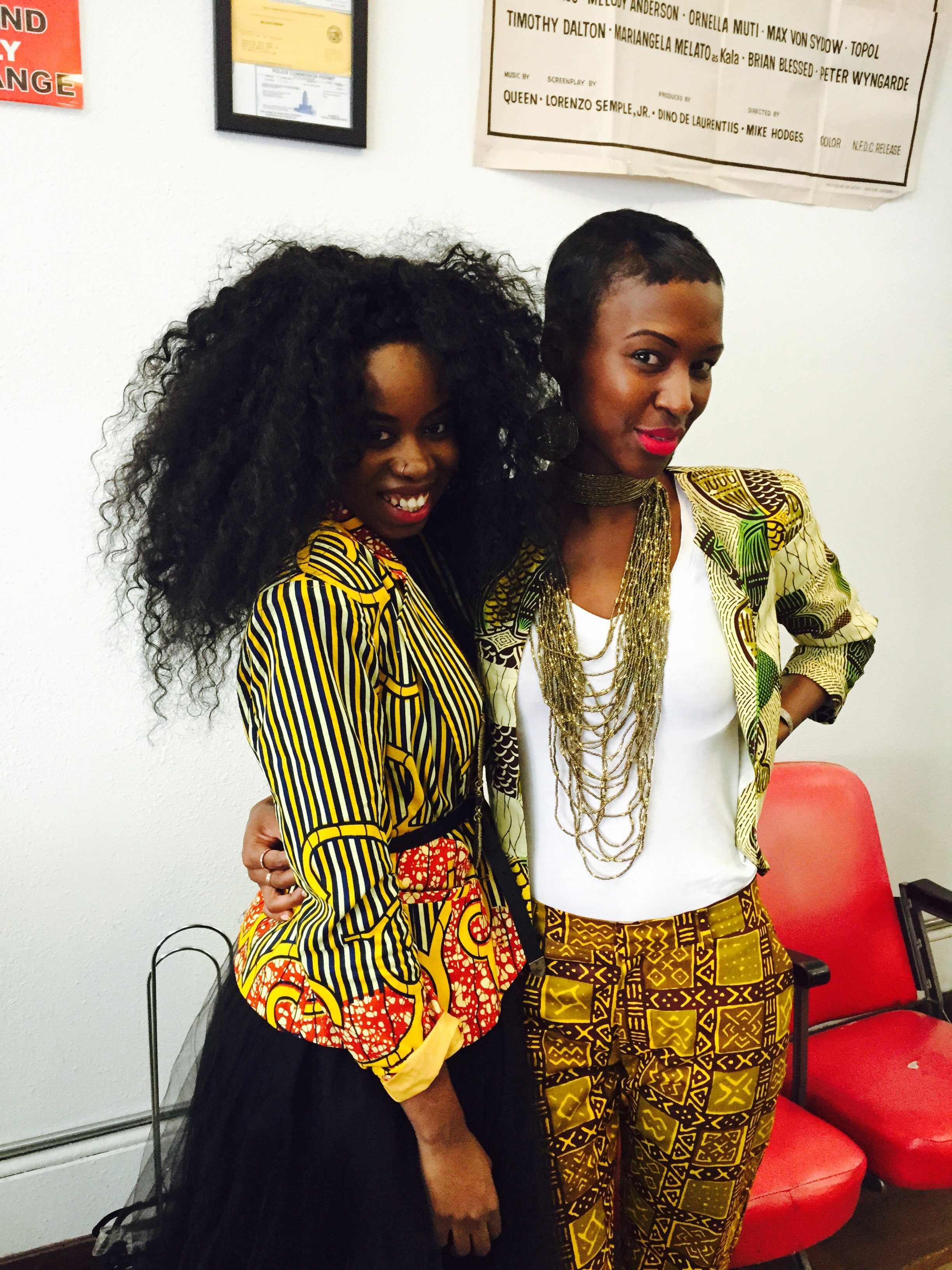 Kelechi of Zuvaa and Iris of The Urban Maasai