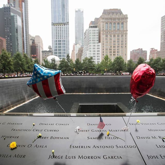 Today we honor the heros and victims of the tragic event that took place 18 years ago. #neverforget