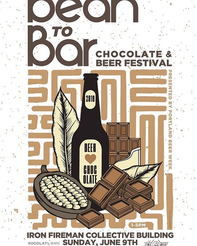 New @portlandbeerweek event!!! Excited to have helped Ezra bring this one to fruition. 10 breweries paired with 10 chocolatiers/makers. All for $25!! And that $25 gets you a $7 voucher to purchase chocolate at the event! Hit the link in bio for all the details and to buy tickets!