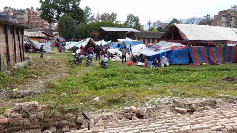 Tents in Nepal. Photo Credit: ACT Alliance