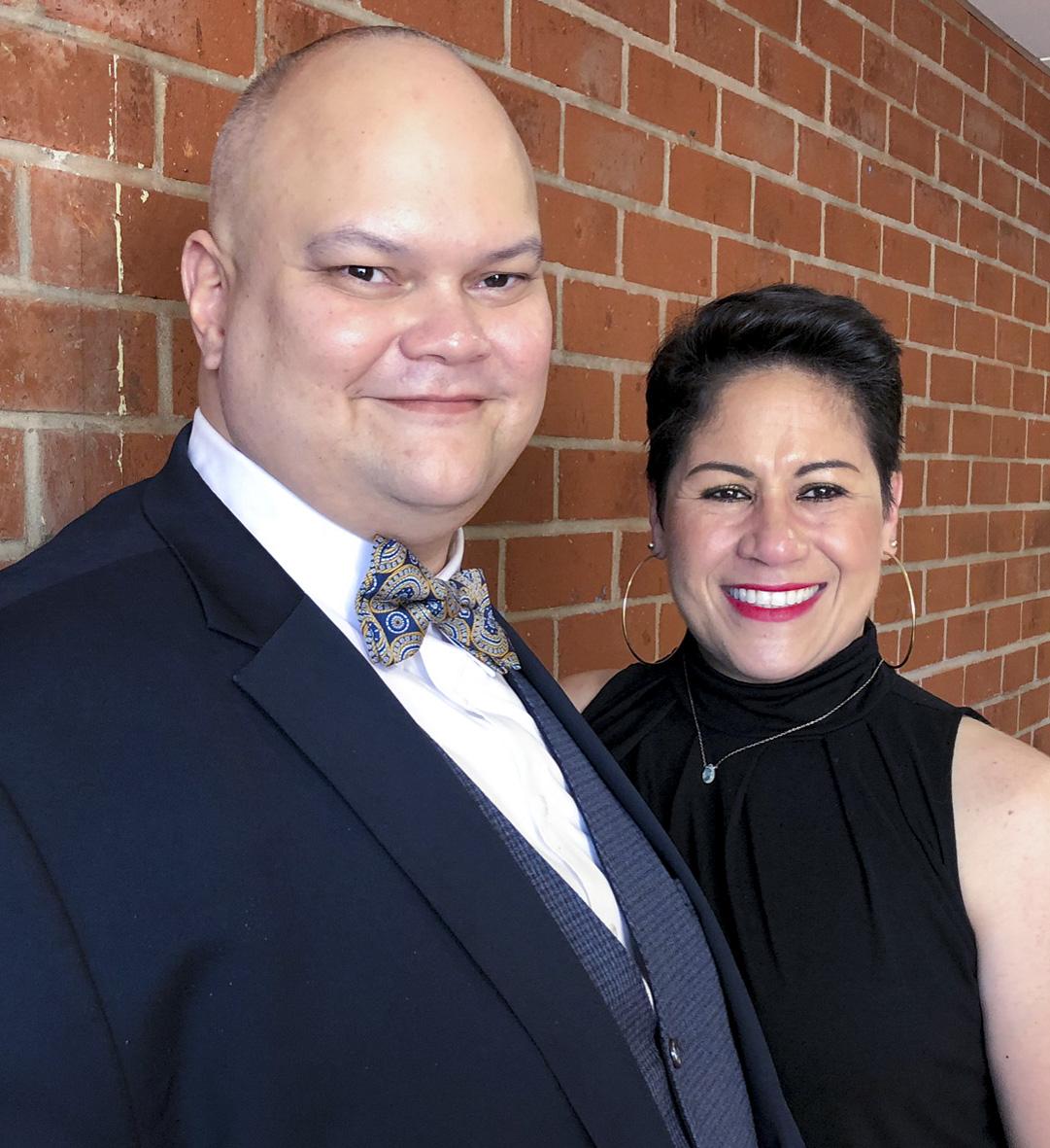 Rev. Richie Sanchez and his wife Jasmine