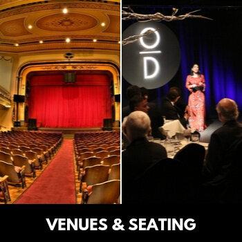 Venues & Seating