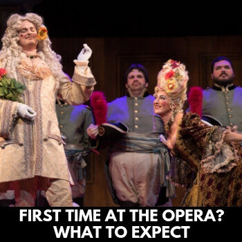 First time at the opera?