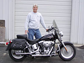 """Mike has our TW37g package in his bike. - 95"""" dyno, 77 hp, 107 ft lbs -  Dynoed in at 97 HP and 107 ft lbs torque, SAE corrected."""
