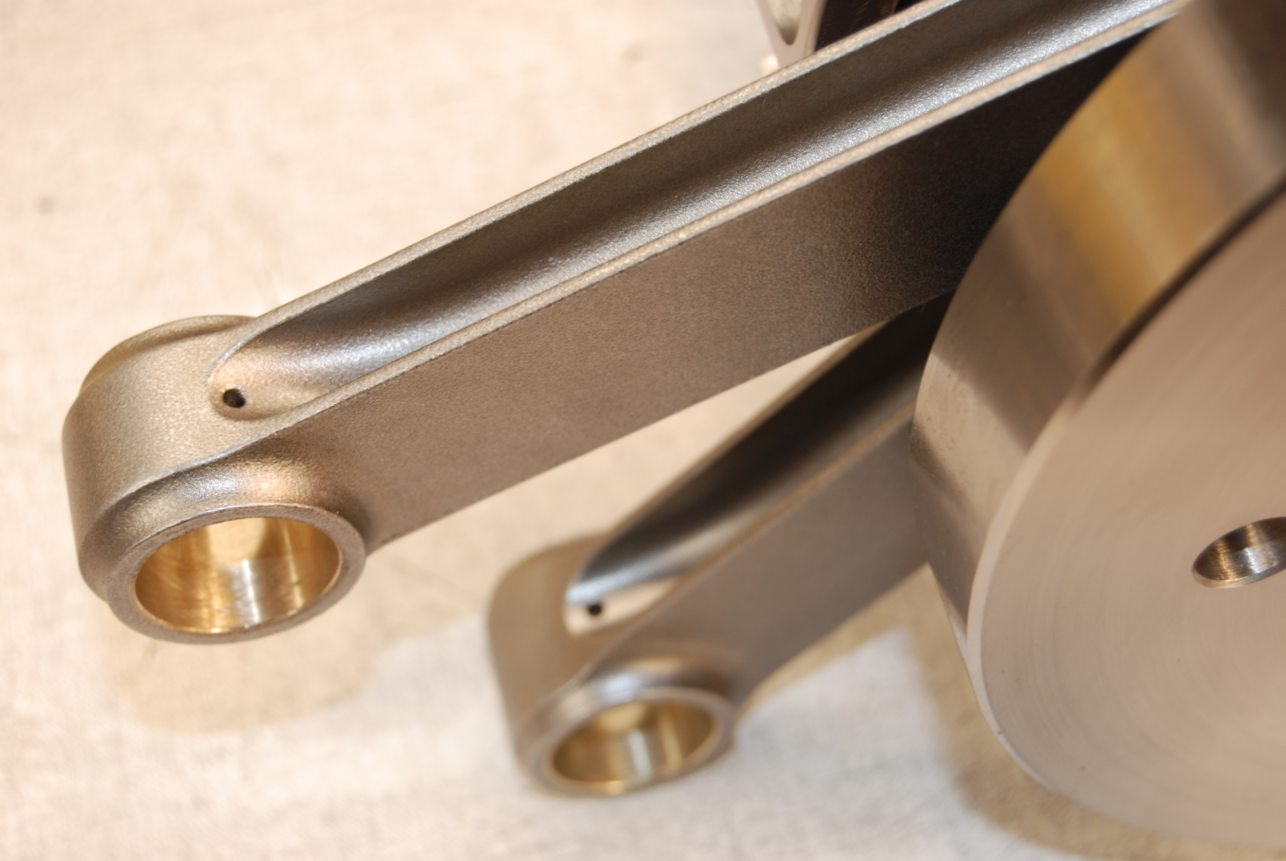 H-Beam Connecting Rods