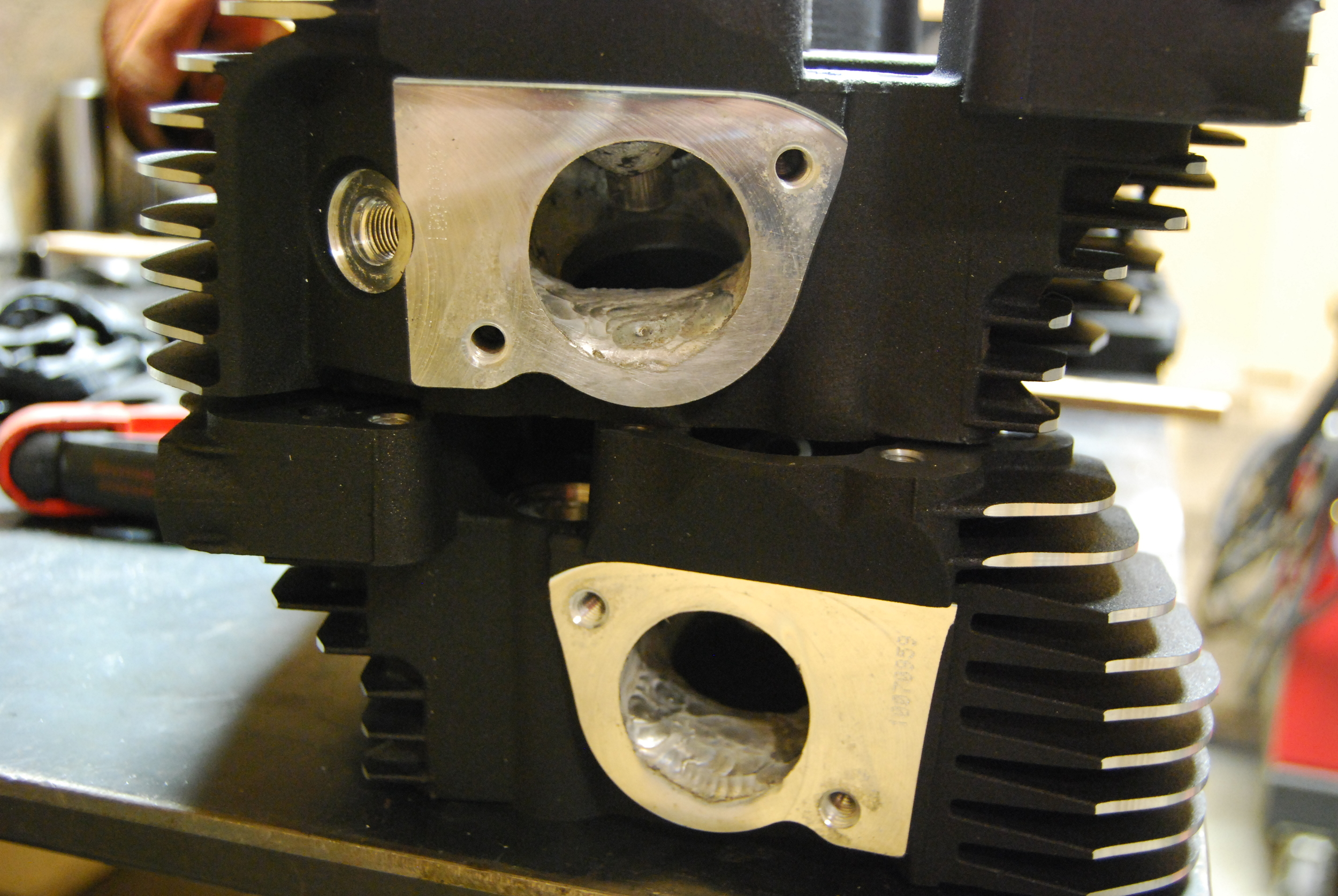 Twin Cam Cylinder Heads, Welded