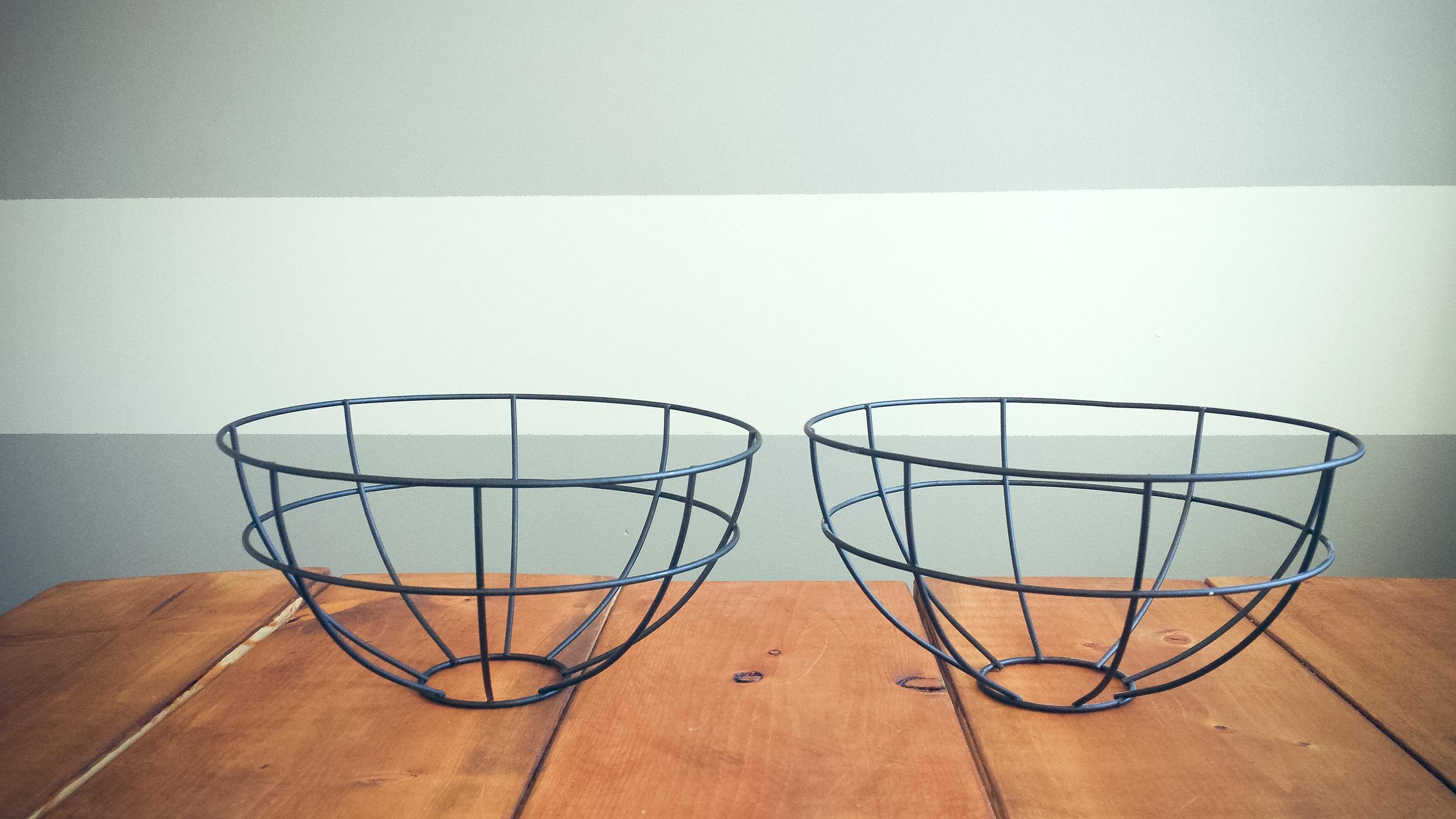 2 Hanging Flower Baskets