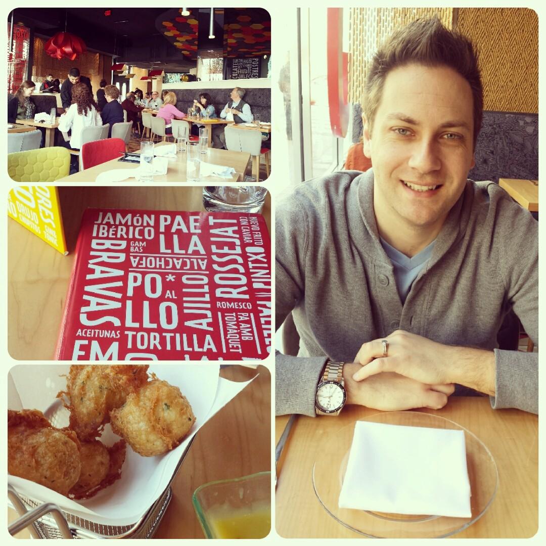 Foodie time in DC. We enjoy food! A lot!