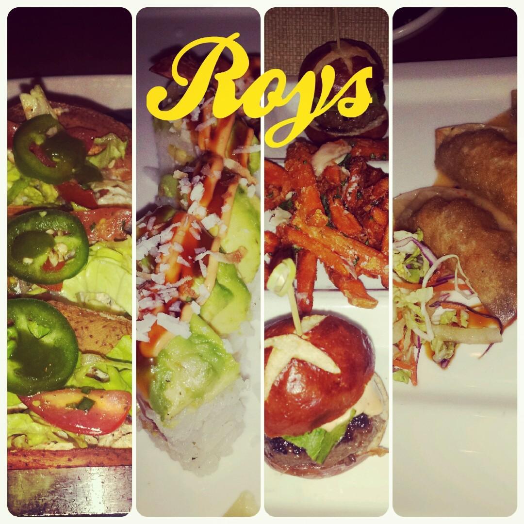 I told you we love our food. Roys...oh sooooo good! :)