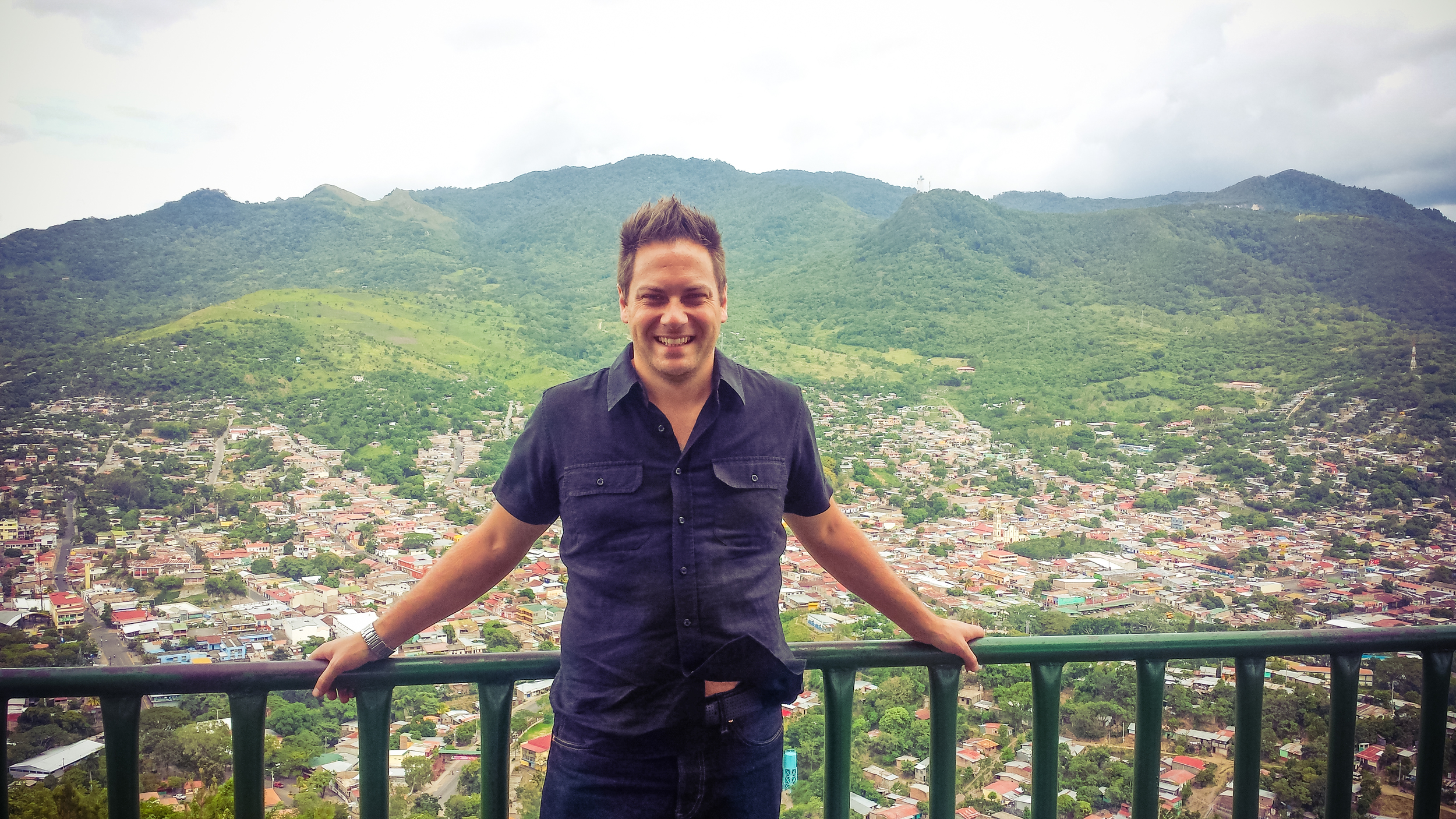 View point overseeing Matagalpa.
