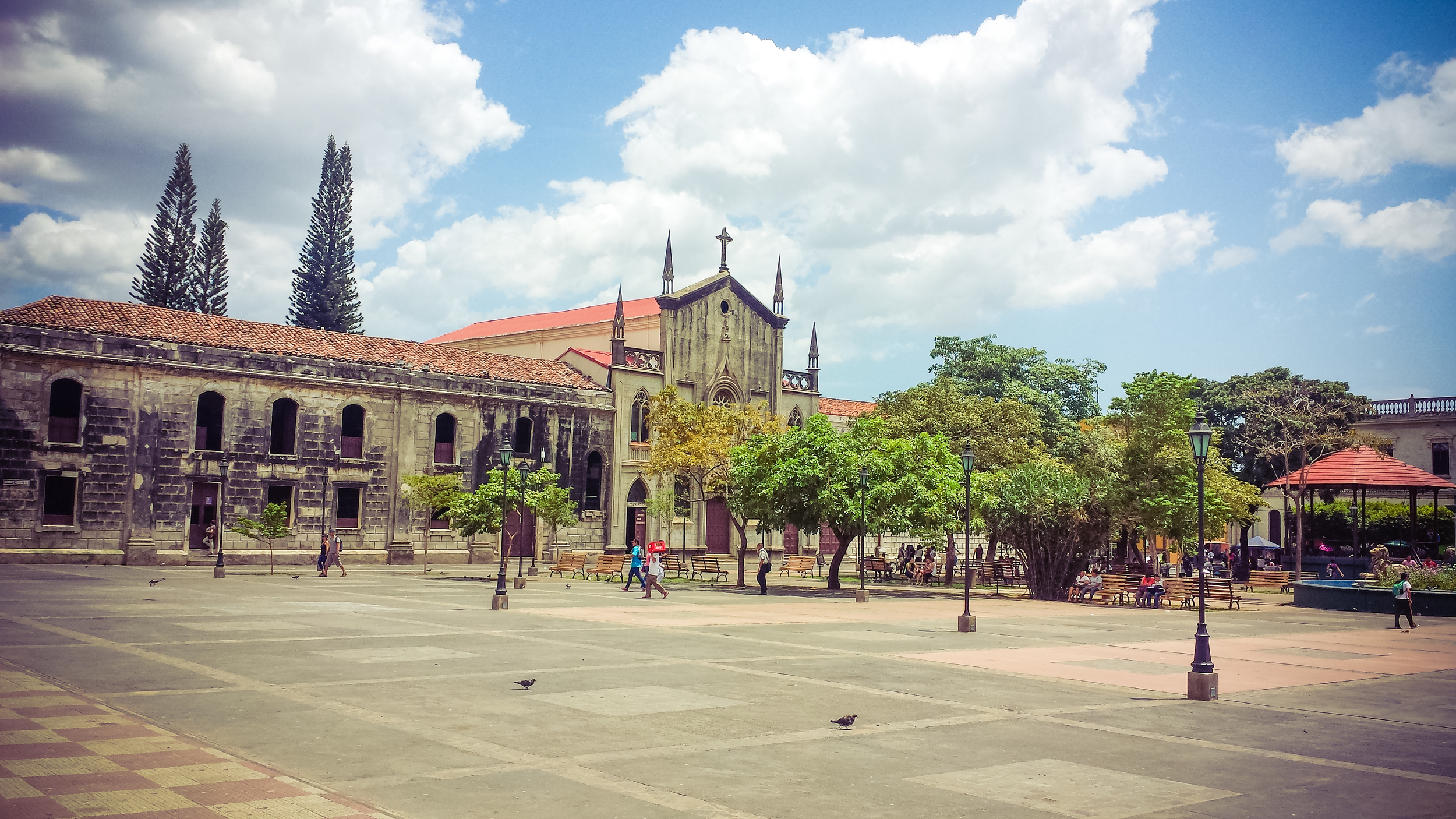 Plaza by the Cathedral